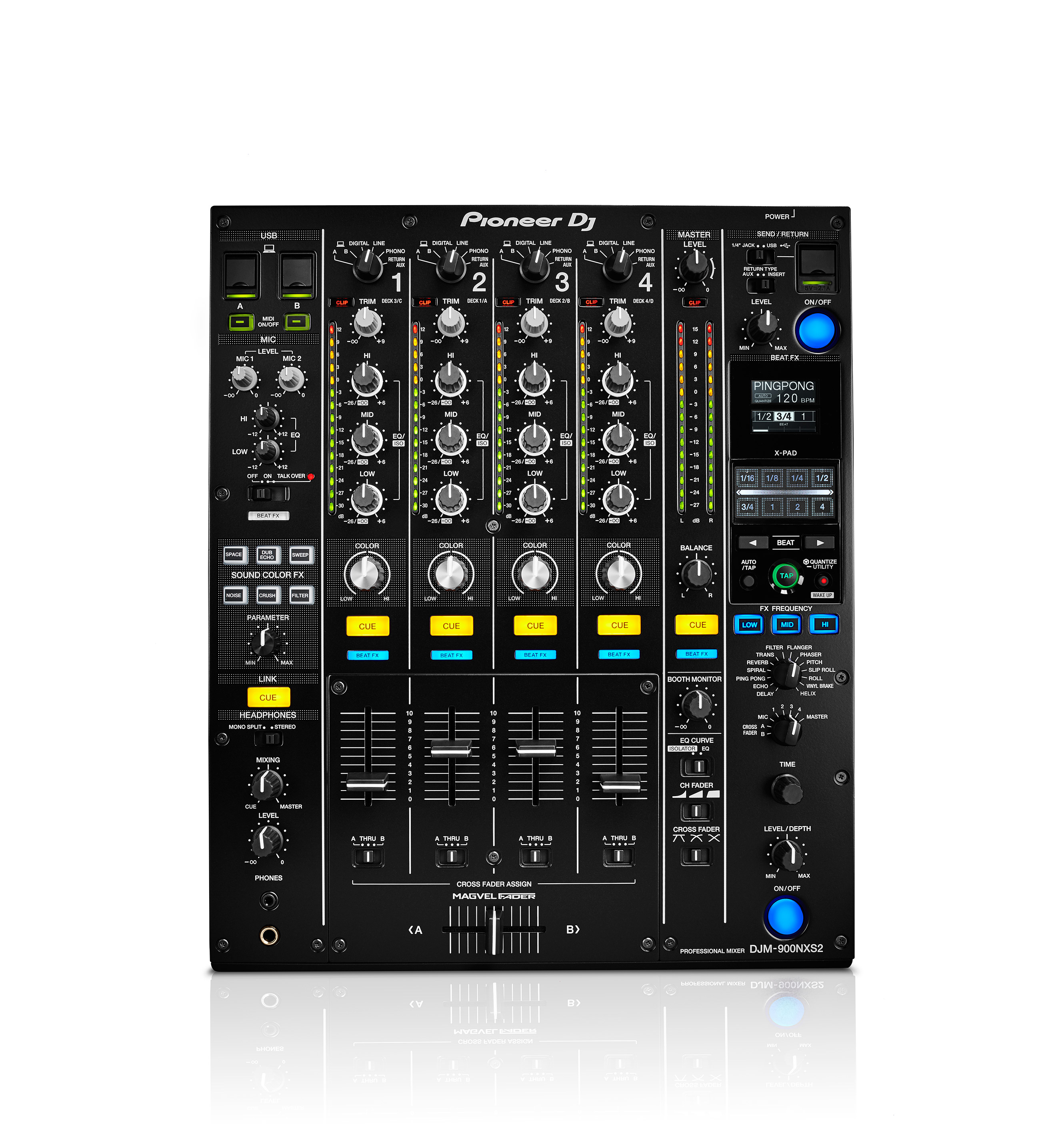 Pioneer djm 900 nxs2 en stock 2 299 00 tables de - Table de mixage professionnelle studio ...