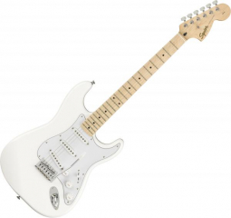 FENDER Stratocaster Affinity Olympic white
